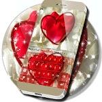 Cute Petals Heart Keyboard Icon