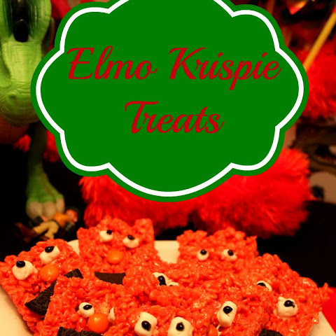 Elmo Krispie Treats