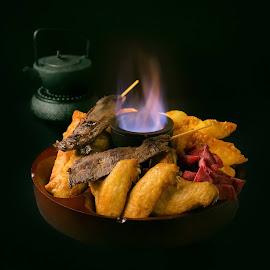 Pu Pu Platter by Cary Chu - Food & Drink Plated Food