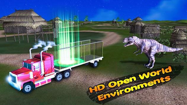 Dino Transport Truck Simulator apk screenshot