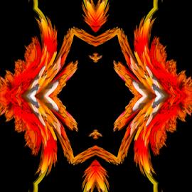 by Kris Pate - Digital Art Abstract ( photoshop art, photograph, photographs, creative, white, yellow, digital, photo, create, photography, photos, red, digital art, black, design, photoshop )