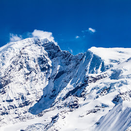 Alaska VII by Kelly Maize - Landscapes Mountains & Hills ( cloud, landscapes, mountains, mountain, snow, alaska, clouds )