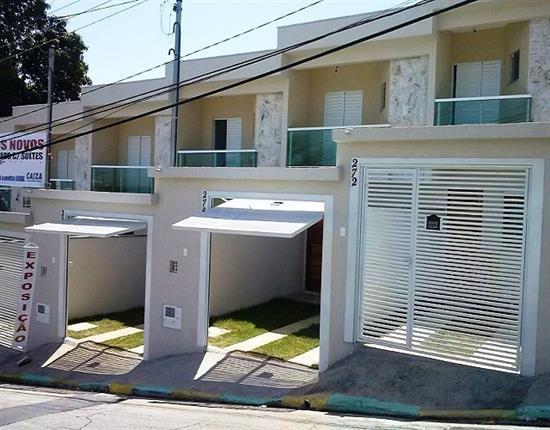 Sobrado residencial à venda, Vila Jacuí, São Paulo.