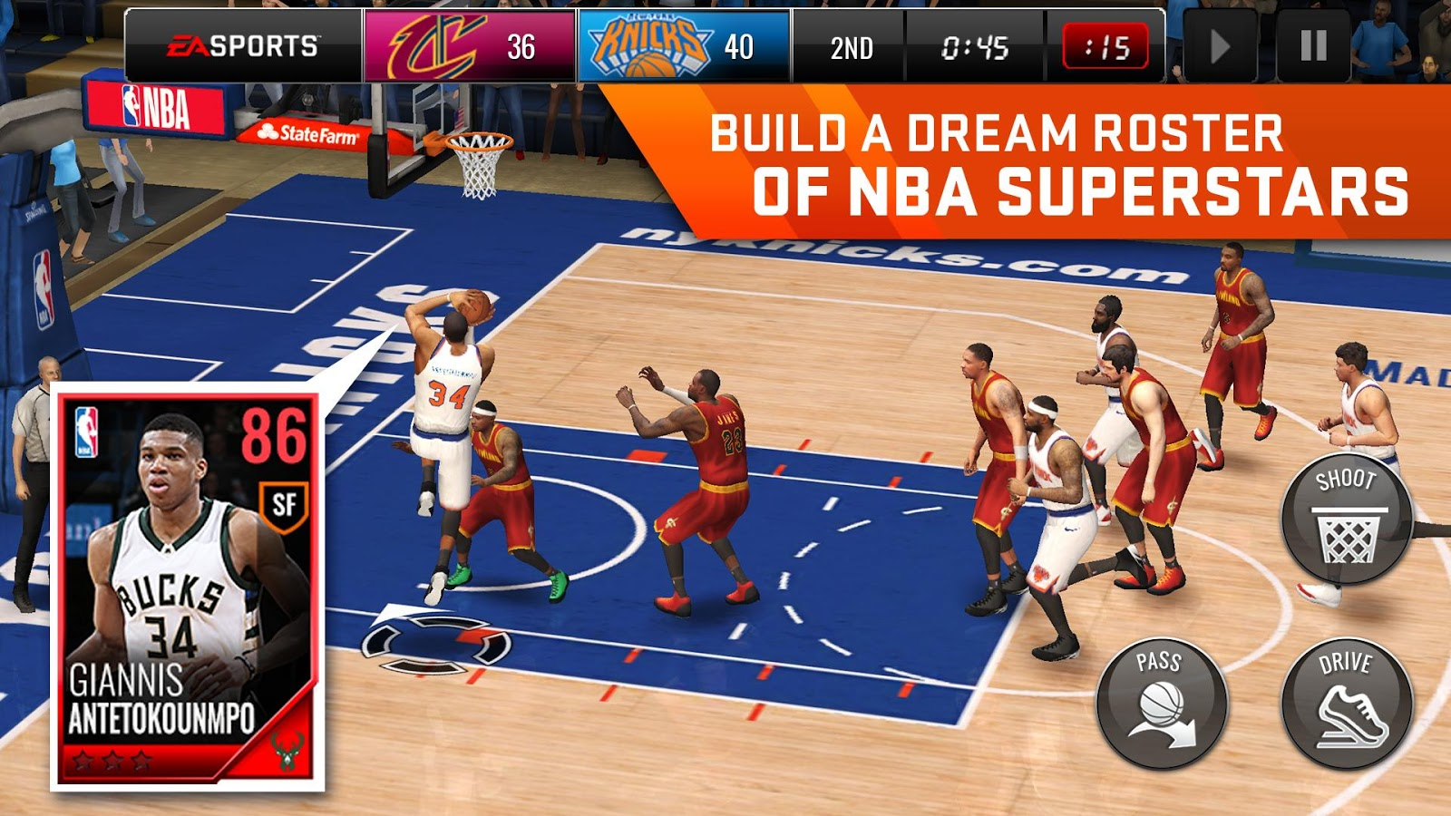 NBA LIVE Mobile Basketball Screenshot 18