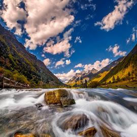 Flow by Tien Sang Kok - Landscapes Waterscapes ( mountain, nature, waterscape, landscape, river,  )