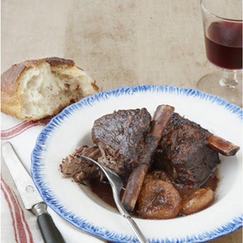 Red Wine-and-Apricot Braised Short Ribs