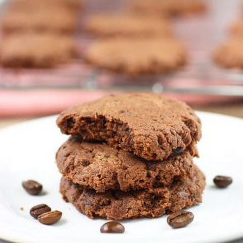 Healthy Espresso Chocolate Almond Butter Cookies