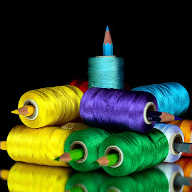 Color pile-up by Asif Bora - Artistic Objects Other Objects (  )