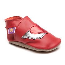 Starchild Tattoo Heart Pram Shoe PRAM SHOES