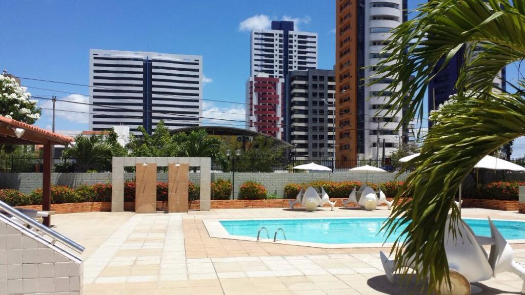 Apartamento residencial à venda, Bessa, João Pessoa - AP3398.