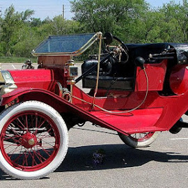 1910 FORD MODEL H by Douglas Edgeworth - Transportation Automobiles (  )