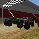 Monster Truck Halloween Racing icon