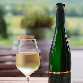 Fresh from the Moselle by Annette Flottwell - Food & Drink Alcohol & Drinks ( wine, drink, vino, moselle, riesling, blanco, while )