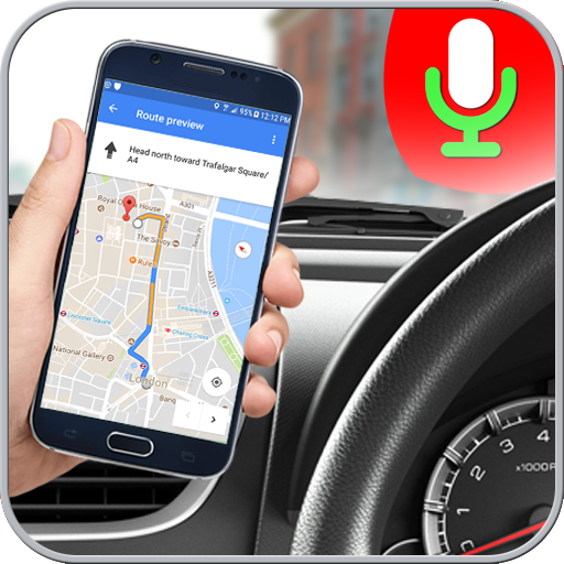 GPS Voice Driving Route Guide: Earth Map Tracking (app)