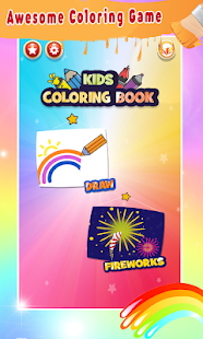 Christmas Coloring Book Glitter For Kids for pc