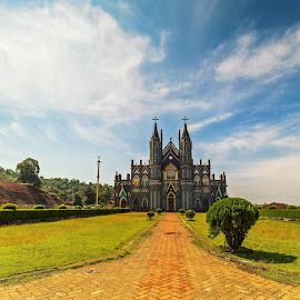St Lawrence Church, Karkala, Udupi by Ketan Vikamsey - Buildings & Architecture Places of Worship ( udupi, pic of the day, canon5dmarkiv, wonderful places, natgeoyourshot, lonelyplanetmagazineindia, natgeohd, lonelyplanet, worldphotographicforum, canonphotography, fotorbit, great nature, natgeo, st lawrence church, photo of the day, kv kliks, anonusa, natgeotravel, travel the world pix, karkalla, bbctravels, india tourism, ketan vikamsey, incredible india )