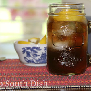 Low to No Calorie Diet Iced Tea (Milo's Copycat)