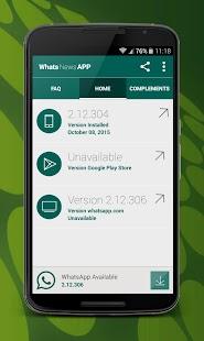 Update for WhatsApp APK for Bluestacks