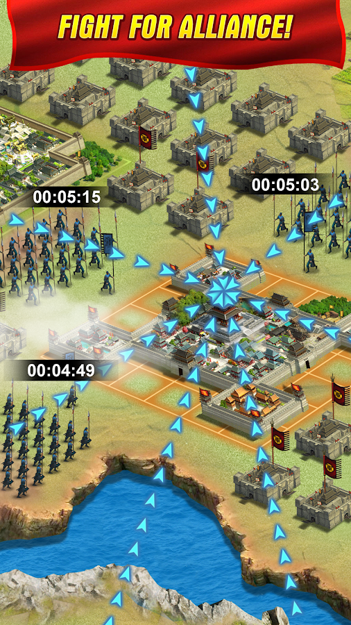 Reign Of Warlords - RTS Screenshot 2