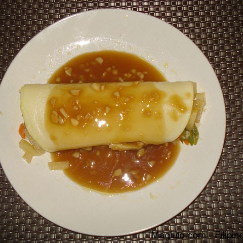 Filipino Recipe Lumpiang Sariwa (Fresh Lumpia)
