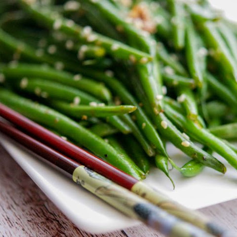 Sesame Ginger Sauteed Haricot Verts