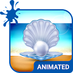 Seaside Animated Keyboard APK Image