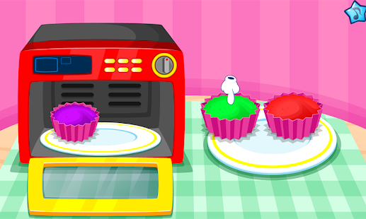 Game Cooking colorful cupcakes APK for Windows Phone