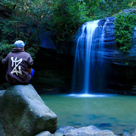 Buderim Falls by Tim Kavanagh - Novices Only Landscapes