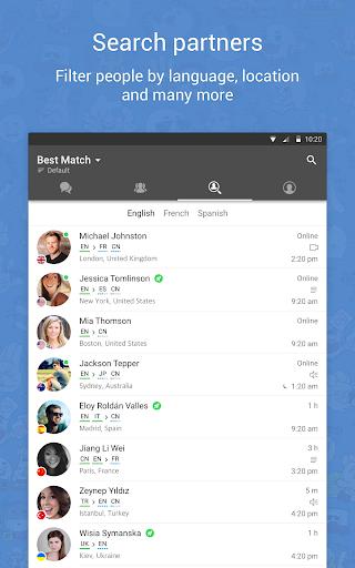 HelloTalk Learn Languages - screenshot