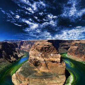 Colorado River by Marco Caciolli - Landscapes Travel ( navajo, south west, arizona, travel, landscapes, river, grand canyon )