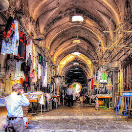 Jerusalem by Dong Leoj - City,  Street & Park  Markets & Shops ( street&park, city )