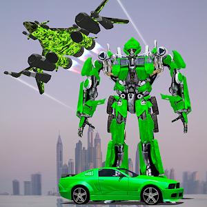 US Army Jet Robot Transforming Wars For PC / Windows 7/8/10 / Mac – Free Download