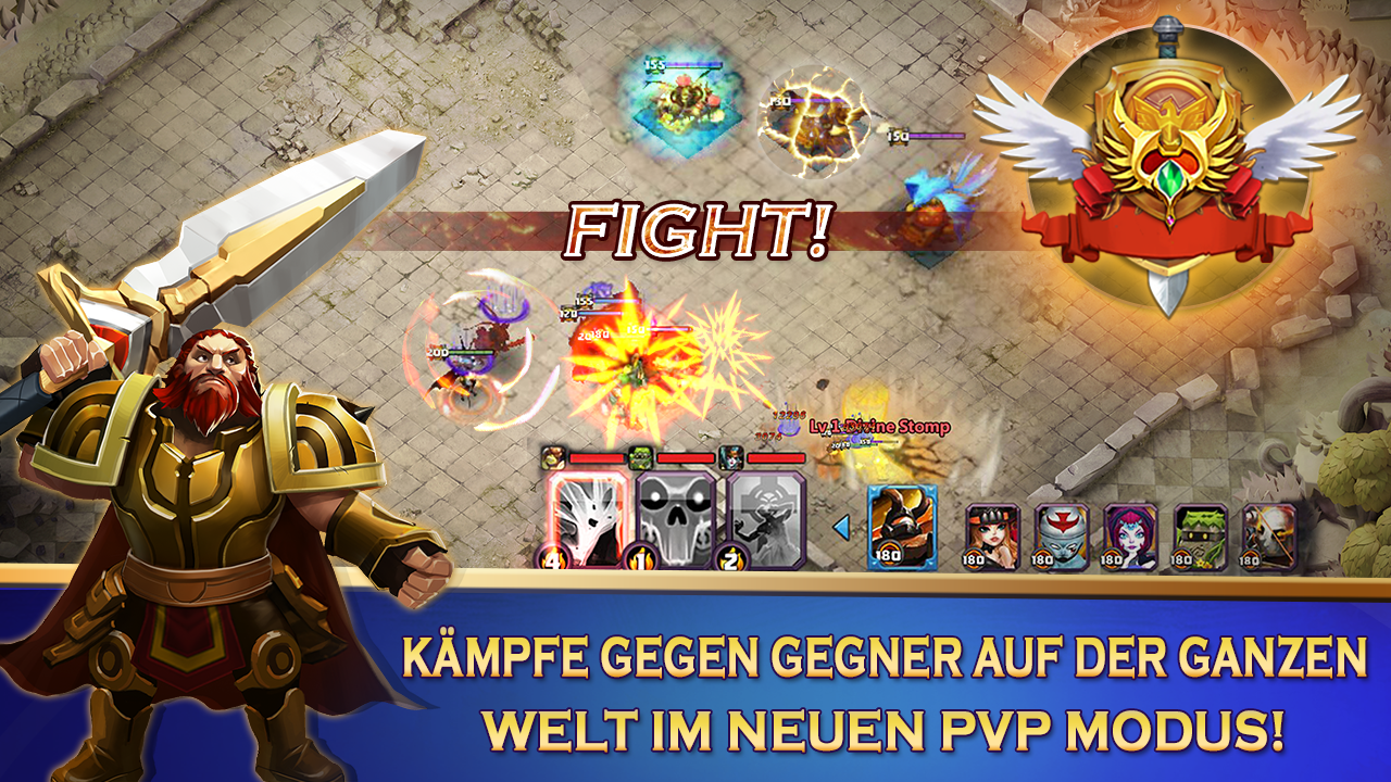 Clash of Lords 2: Ehrenkampf Screenshot