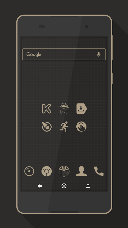 Rest - Icon Pack Screenshot 2