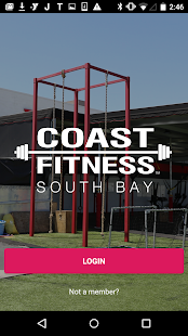 Coast Fitness Fitness app screenshot for Android