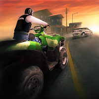 Police Quad Chase Simulator 3D For PC (Windows And Mac)