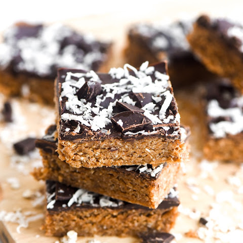 Dark Chocolate Coconut Bars