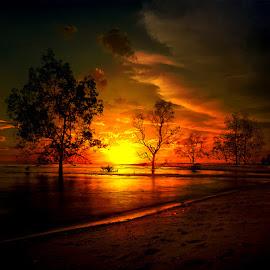 by Daniel Chang - Landscapes Sunsets & Sunrises