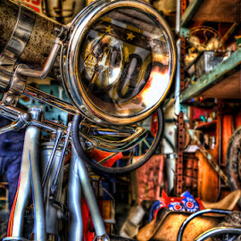 American Pickers Store ~ LeClaire Iowa by Ron Meyers - Transportation Motorcycles ( american pickers )