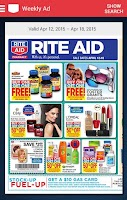 Screenshot of Rite Aid Pharmacy