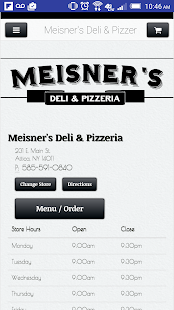 Meisner's Deli & Pizzeria - screenshot