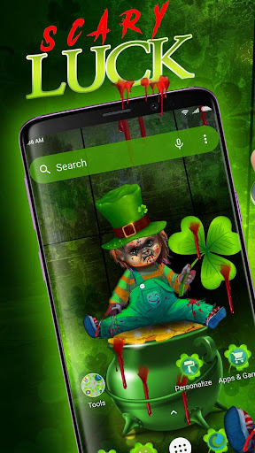 Scary Leprechaun Launcher - Wallpapers and Icons For PC