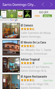 Santo Domingo City Guide - screenshot