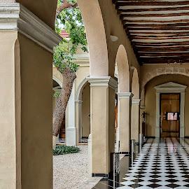 Architectural Charm by Andrius La Rotta Esquivel - Buildings & Architecture Other Interior ( mexico, museum, symmetry, buildings, architectural, photography, architecture )