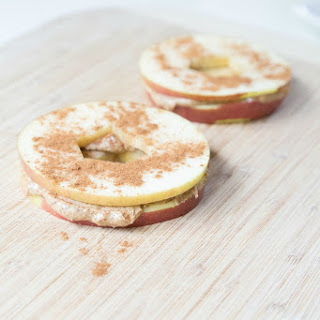Apple & Almond Butter Sandwiches