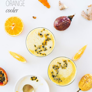 Orange Cooler Drink Recipes