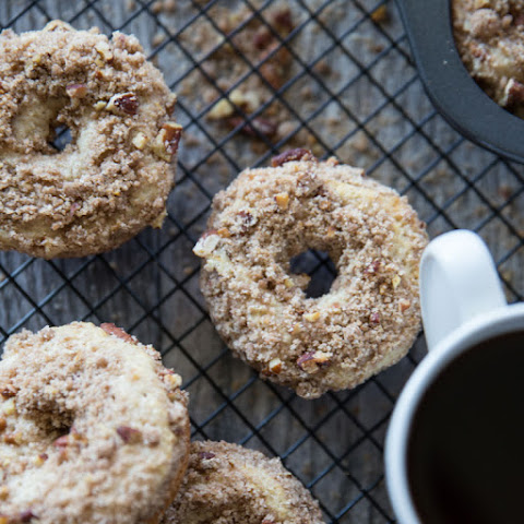 Baked Coffee Cake Doughnuts