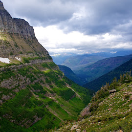 Glacier National Park - USA by Lucas Mendonca - Landscapes Mountains & Hills ( clouds, mountains, lttme productions, peace, trail, hike )