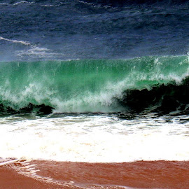 Waves by Gil Reis - Nature Up Close Water ( water, life, winter, nature, waves, weather, places, portugal )