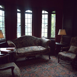 The Coe Mansion  by Lorraine D.  Heaney - Buildings & Architecture Public & Historical